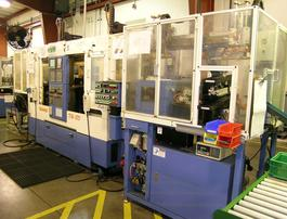 A photo of one of our CNC machines.