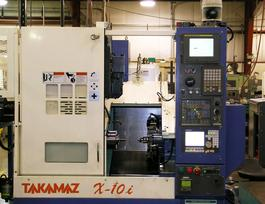 A photo of Takamaz CNC equipment.